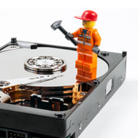 hard disc repair