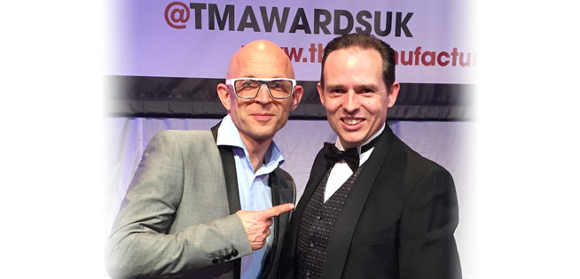 martin bailey jason bradbury tma awards 2014