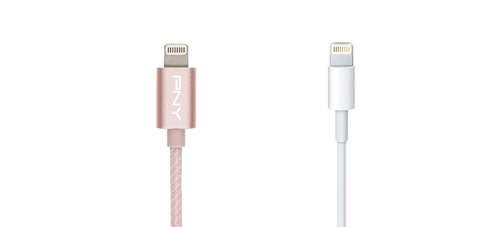 pny cable versus apple cable