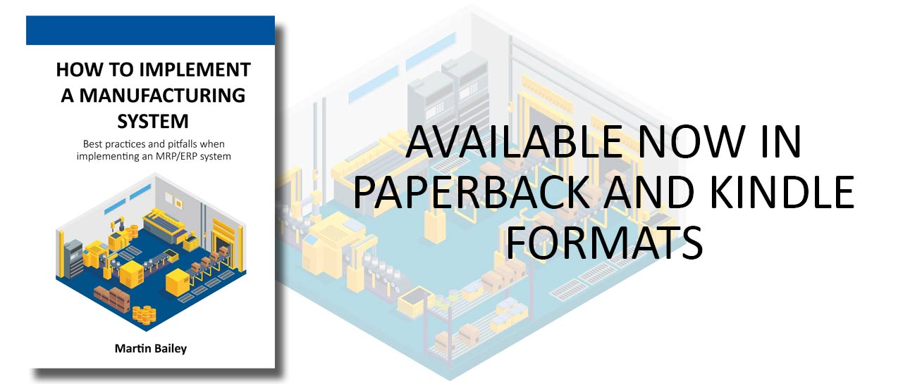 book implementing mrp manufacturing system