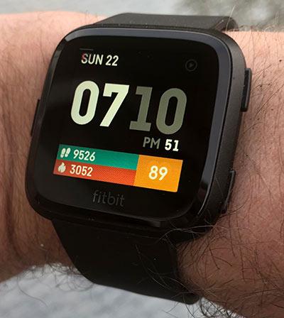 Review: Fitbit Versa smartwatch (versus Pebble Time Steel)